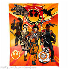 Star Wars Blanket - The Force Awakens  - Large, Super Soft Throw - So Soft!
