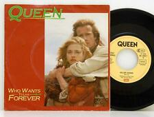"""Queen         Who wants to live forever           7""""         NM # D"""