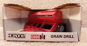 1989 ERTL 1/16 Scale Diecast Case IH International Grain Drill 5100 Toy Replica