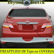 2007-2011 TOYOTA CAMRY TRIPLE Chrome Tailgate COVER Handle Trunk Accent Trim