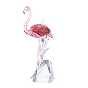 Swarovski Crystal 5302529 Pink Flamingo Size: 20.4 x 8.4 x 6 cm