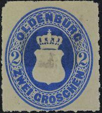 Oldenburg (German State), Scott # 19, Mint No Gum
