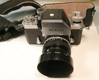 Nikon F SLR camera with Photomic FTn finder & Nikkor 50mm f1.4 AI M/F lens