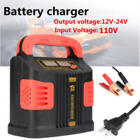 110V 350W 12/24V Auto Car Battery Maintainer Charger Repair Jump Starter Booster