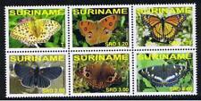Surinam / Suriname 2007 Vlinders butterfly schmetterling papillon MNH