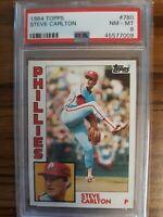 1984 Topps Steve Carlton PSA 8 Philadelphia Phillies HOF #780