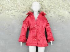 1/6 scale toy Locomotive Girl Ada - Red Short Sleeve Blouse Shirt