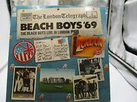 Beach Boys '69:The Beach Boys Live In London LP Capitol  ST-11584 VG++ c VG+