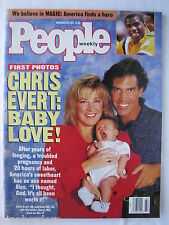 CHRIS EVERT, ANDY MILL, MAGIC JOHNSON, MICHELLE AKERS, Nov 25, 1991 People, XLNT
