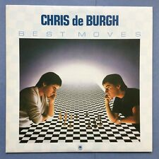 CHRIS DE BURGH - BEST MOVES - A&M amlh-68532 EX+ état Vinyle LP