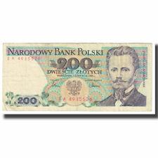 [#610859] Banknot, Polska, 200 Zlotych, 1982, 1982-06-01, KM:144a, VF(20-25)