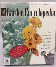 Garden Encyclopedia CD-ROM Multimedia Guide Perfect Plants for Your Garden NOS