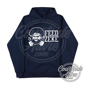 Ezekiel Elliott FEED ZEKE Adult Hoodie Sweatshirt Dallas