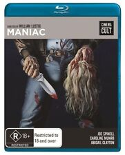 C6 BRAND NEW SEALED Maniac By William Lustic Cinema Cult (Blu-ray, 2013) Blu Ray
