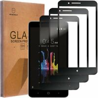 3X Full Coverage Tempered Glass Screen Protector For ZTE Blade Z Max Z982