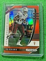 ENO BENJAMIN PRIZM ORANGE ROOKIE CARD JERSEY #3 CARDINALS 2020 Prizm DP SP RC