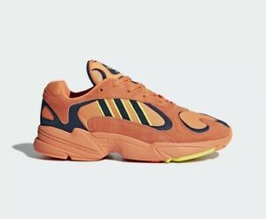 Adidas Yung-1 Dragon Ball Z Hi-Res Orange DBZ Goku Sneakers Mens 9.5 B37613 $160