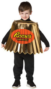 Reese's  Peanut Butter Cup Costume Child
