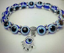 Evil Eye Bracelets & Free Gift! U Get 2 ! Unisex Hamsa