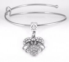 bf7feb032 BFF Bracelet Best Friends Gift BFF Bangle Besties Present Best Friend charm  BFFs