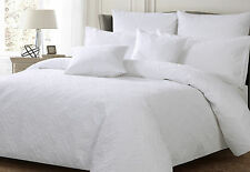 NEW Georges Ashton White King Quilted Quilt Cover Set
