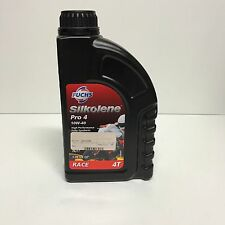 NEW SILKOLENE PRO 4 4T RACE 10W40 1L 1 LITER MOTORCYCLE OIL 89-0150