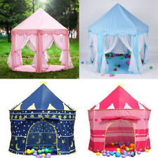 KIDS POP UP WIZARD PRINCESS CASTLE BALL PLAYING TENT INDOOR OUTDOOR PLAYHOUSE