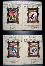 COMICS: Marvel Masterworks: Amazing Spiderman #1-40 (4 variant hardcovers)