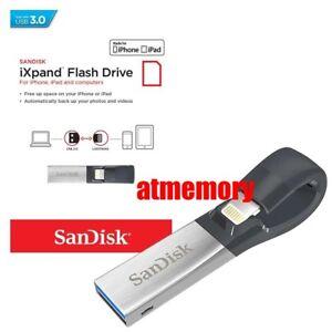 Sandisk iXpand 32GB 64GB 128GB 256GB Lightning USB Flash Drive for iPhone/iPad