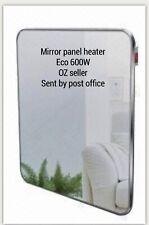 ECO PANEL MIRROR HEATER  WALL MOUNTABLE ULTRA SLIM NEW 600W