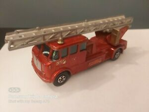 VINTAGE MATCHBOX SUPERKING K15-1 - MERRYWEATHER FIRE ENGINE - KENT - AS PHOTO