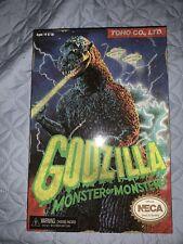 "NECA Godzilla 1984 8-Bit NES Video Game Figure VERY RARE - 12"" Head To Tail NEW"