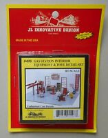 GAS STATION INTERIOR TOOLS EQUIP HO 1:87 SCALE LAYOUT DIORAMA JL INNOVATIVE 498