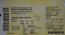 TICKET UEFA Youth League 2019/20 Napoli - Liverpool FC