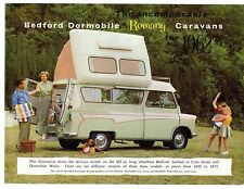 Bedford CA Dormobile Romany Caravans 1961-62 UK Market Sales Brochure
