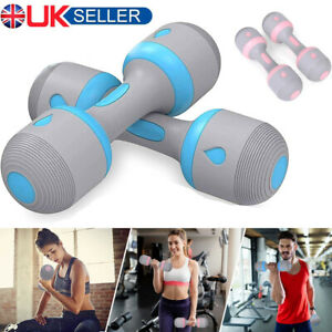 10kg Pair Hand Weights Adjustable Dumbbells Set Women Taining Exercise Fitness