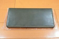 New Men's Wallet Bridle Leather Tanned In England With Craftmanships F/S #170301