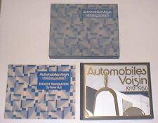 Automobili Voisin 1919-1958 LIMITED EDITION 0360 libro di lusso in carta SLIP CASE
