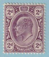 TRANSVAAL 283  MINT NEVER HINGED OG ** NO FAULTS EXTRA FINE!