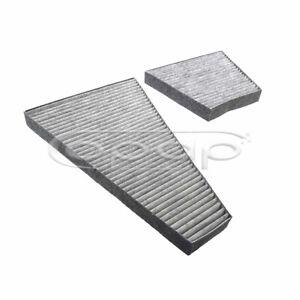 Satz Innenraumfilter Aktivkohlefilter für VW Phaeton 3D ents CUK35000-2, FK00118