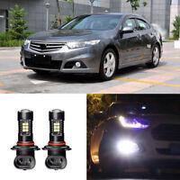 Canbus H11 3030 21SMD LED DRL Daytime Running Fog Lights Bulbs For Honda Spirior