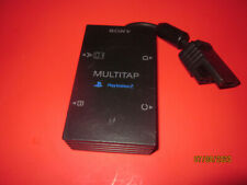 GENUINE SONY SCPH-10090 MULTITAP PS2 PLAYSTATION 2 MULTIPLAYER ADAPTER TESTED