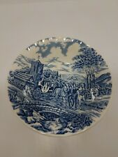 """Churchill Royal Mail Blue 6 1/4"""" Bowl China Wessex Collect.. Stage Coach England"""