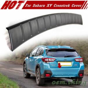 Fit FOR Subaru XV 5th Crosstrek 5D Rear Bumper Cover Protector Step Plate 18-21