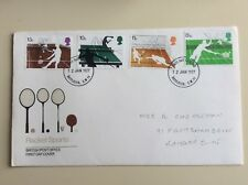 "Post Office First Day Cover ""Racket Sports"""