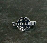 B.R.D JUBILEE CLUB - PIN Badge ☆ Metal Enamel ☆ VERY RARE ☆
