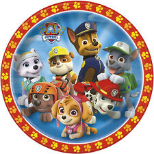 PAW PATROL LARGE PAPER PLATES (8) ~ Birthday Party Supplies Dinner Lunch Everest