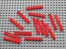 14 x tile Red LEGO ref 6636 / set 10024 8157 7633 8652 8671 10143 40015 8143 ...