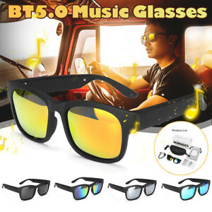 Smart Glasses bluetooth Polarized Bone Conduction Headphone Headset