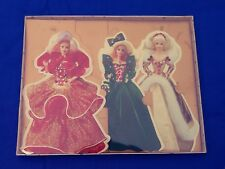 Hallmark Holiday Barbie Collection 3 Displayable Greeting Cards w/ Envelopes NIB